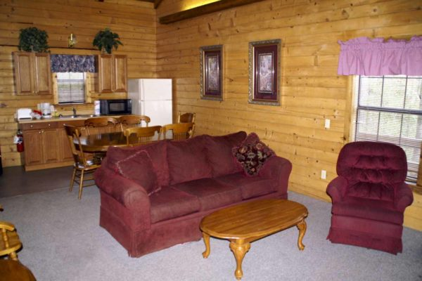Brazos - Two Bedroom Two Bath with Loft Log Cabin