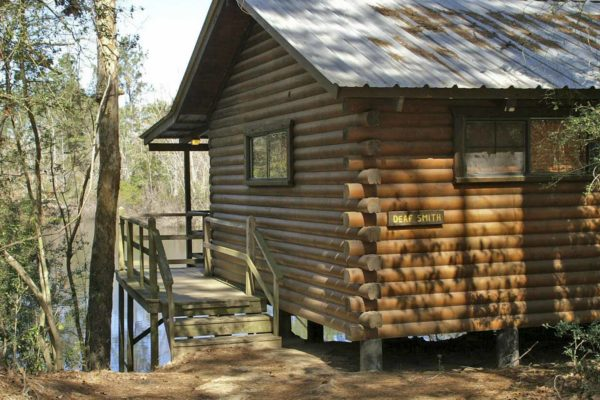 Deaf Smith - One room log cabin
