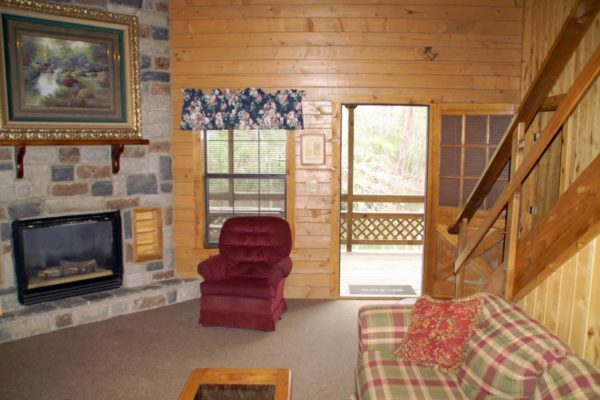 Guadalupe - Two Bedroom Two Bath with Loft Log Cabin