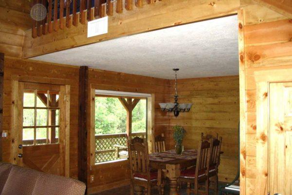 Hall House - 3 Bedroom Log Home
