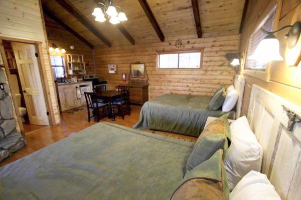 Lorenzo De Zavala - One Room Log Cabin