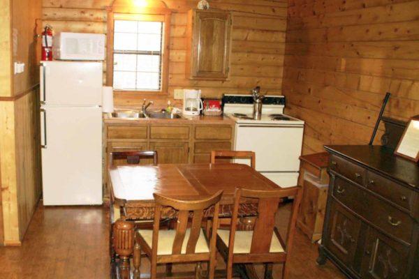 Oliver Loving - One Room Log Cabin