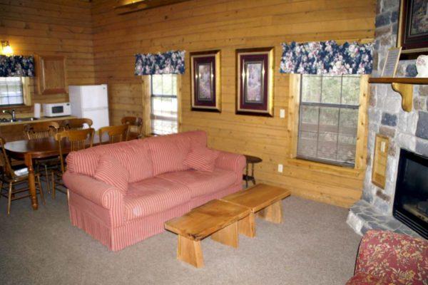 Rio Grande - Two Bedroom Two Bath with Loft Log Cabin
