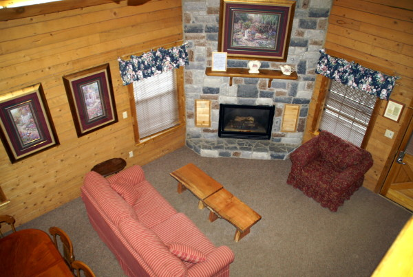 2 Bedroom With Loft Log Cabin The Retreat At Artesian Lakes