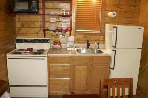 Yellow Rose - One Room Log Cabin