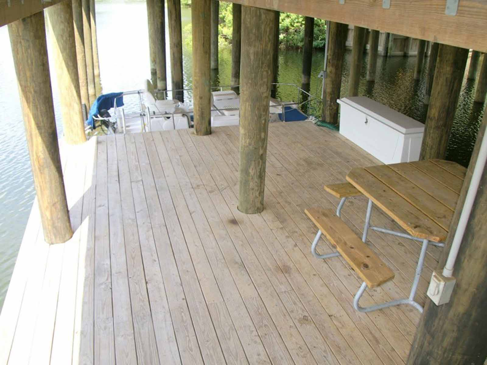 Boat Dock (Under the home)