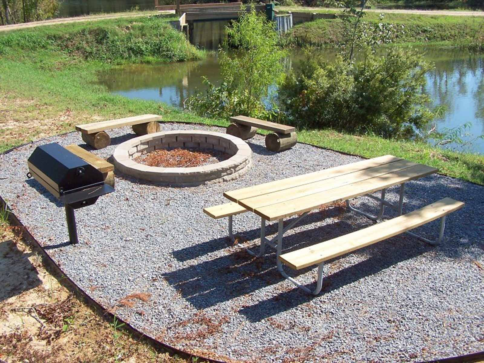 Grill and Fire Ring