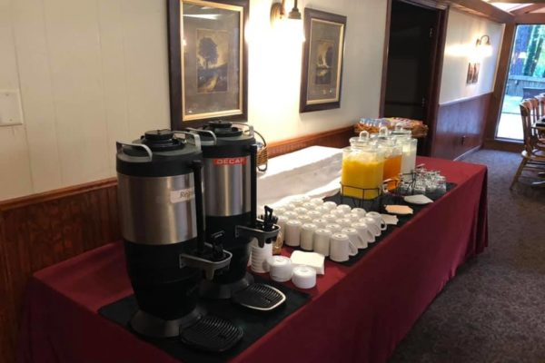 Breakfast Buffet - Coffee and Juice