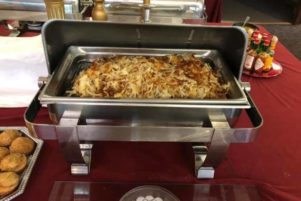 Breakfast Buffet - hashbrowns