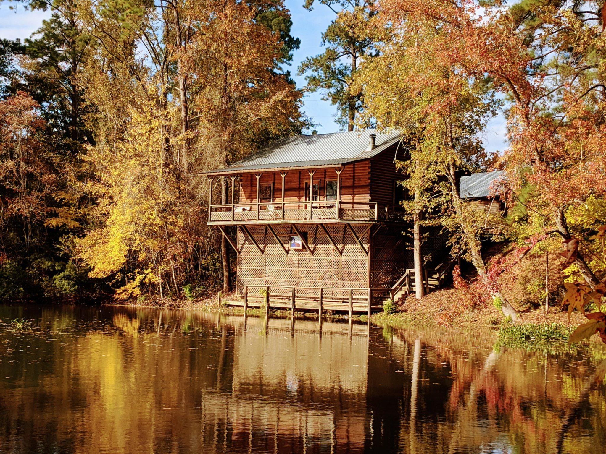 Lonestar log cabin