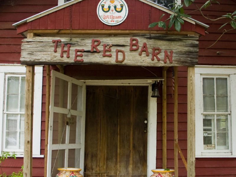 Red Barn Entry