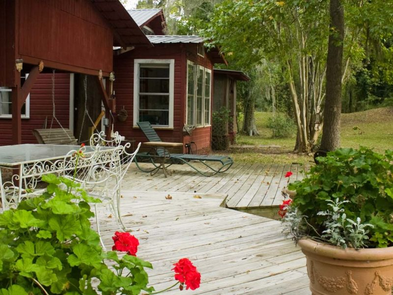 The Red Barn, private home, located at The Retreat at Artesian Lakes
