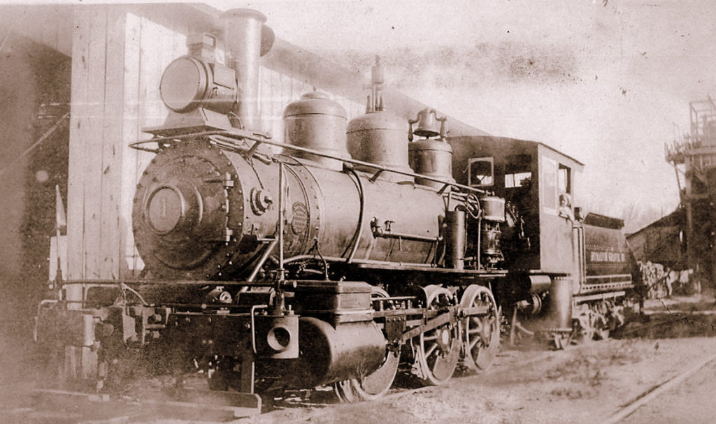 Climax Model B locomotive